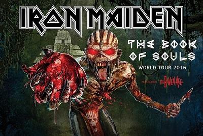 Iron Maiden kommer till Sverige igen 1