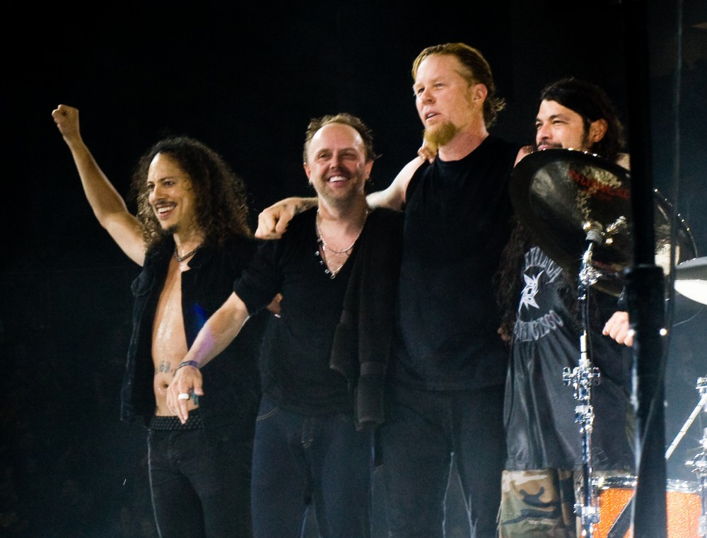 Metallica spelar in en ny skiva 1